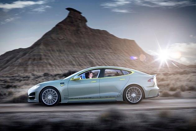 Rinspeed Xchange Driverless Tesla Model S