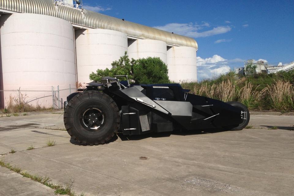 Street Legal Real Time Batman Tumbler Hits The Market