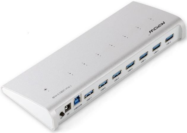 7 Port USB 3.0 Premium Aluminum Hub