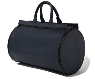 BAMIN Interchangeable Panel Matte Leather Duffel