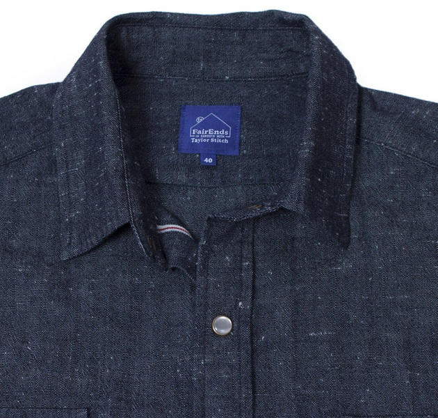 Chambray Glacier Shirt by Taylor Stitch
