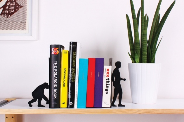 Evolution Bookends A Relevant Furniture Accessory