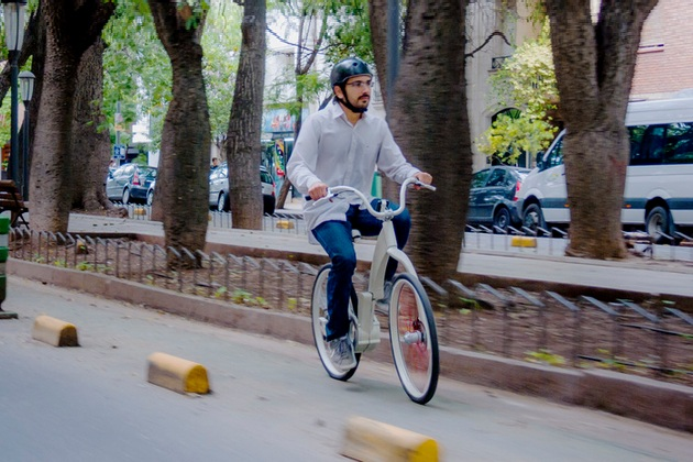 GiBike Folding Electric Bike Concept For City Life