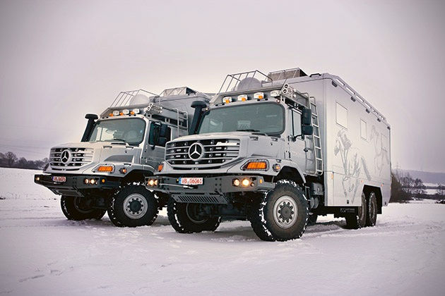 Mercedes-Benz Zetros 6x6 Expedition Vehicle