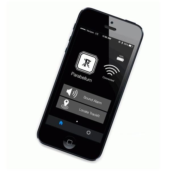 Parabellum X Trackr Smartwallet And Smartkeyring