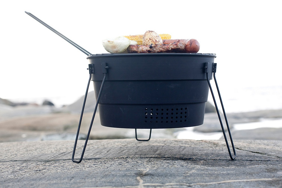 Portable Pop-Up Barbecue Grill