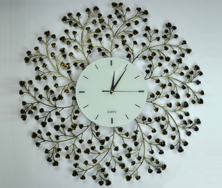 Spring Blooms Wall Clock