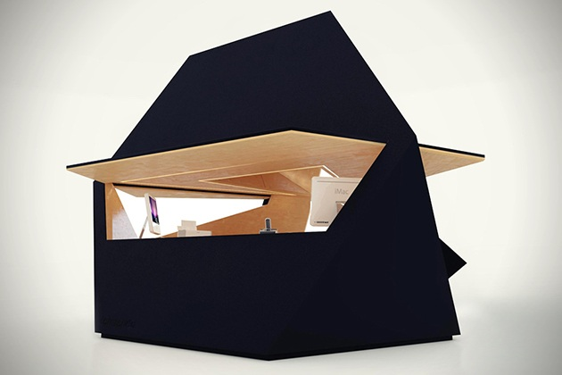Tetra Shed Modular Office Pod