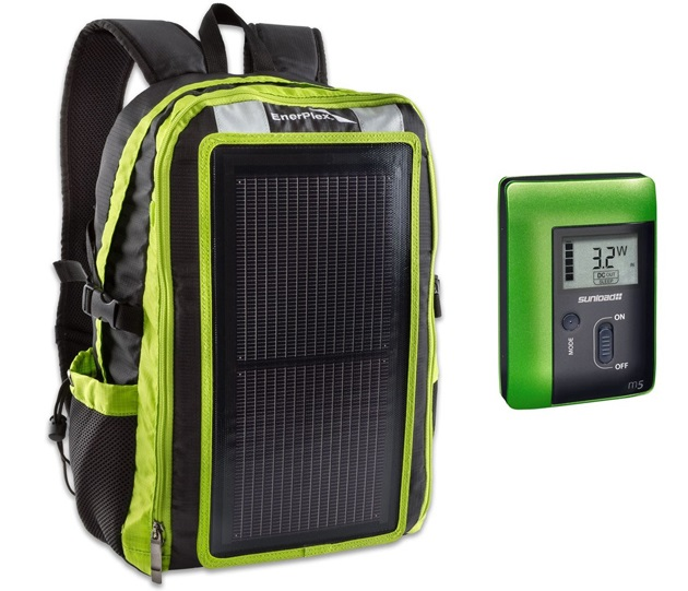 USB Solar Charging Backpack (2)