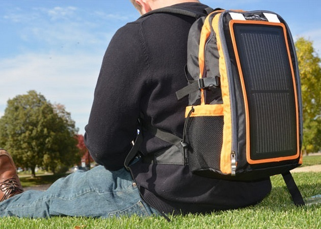 USB Solar Charging Backpack (6)