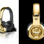 24K Gold OverEar Monster DJ Headphones
