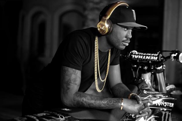 24K Gold OverEar Monster DJ Headphones