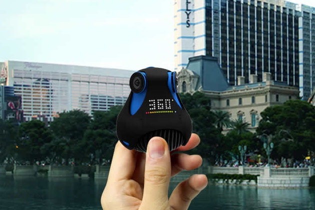 360cam The World's First Full HD 360 Degrees Waterproof Camera