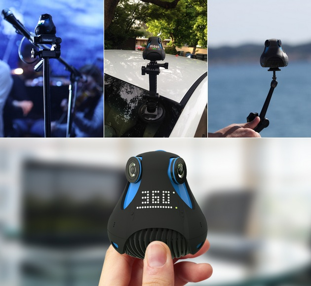 360cam The Worlds First Full HD 360 Degrees Waterproof Camera