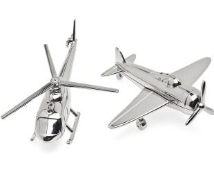 Airplane Dinnerware Airplane Chopper Salt and Pepper