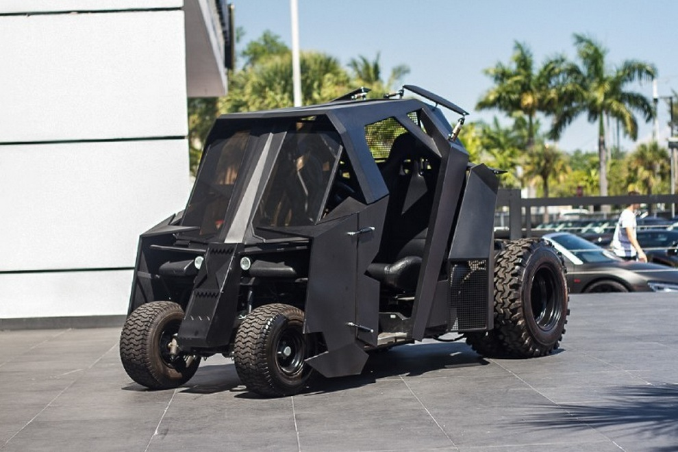 Awesome Batman Tumbler Golf Cart Goes On Sale