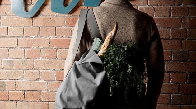 Cube Tote Bag By Hard Graft Makes Shopping Easy