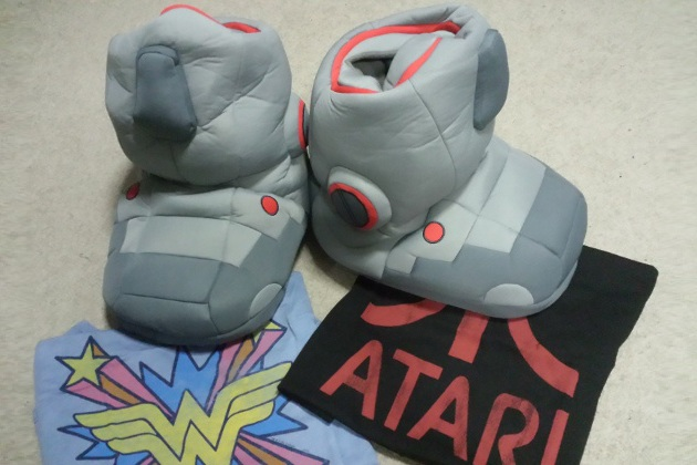 Giant Robot Slippers with Sound Effects