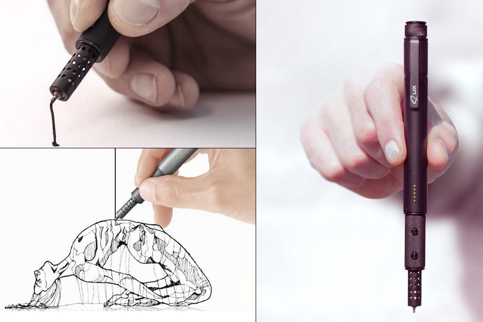 LIX Reveals Portable Prograde 3D Printing Pen