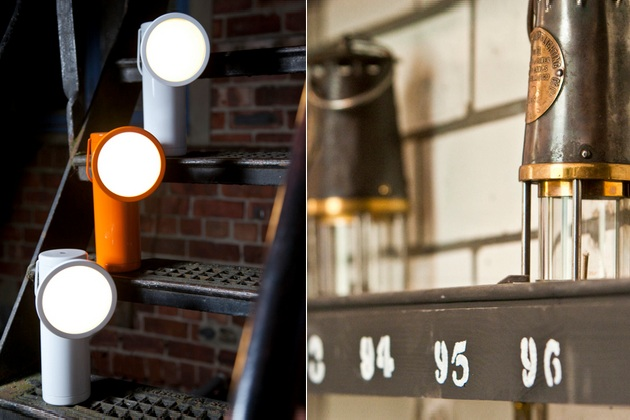 M Lamp Resembles 19th Century Miners Lantern
