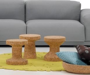 Modern Cork Family Stools By Vitra