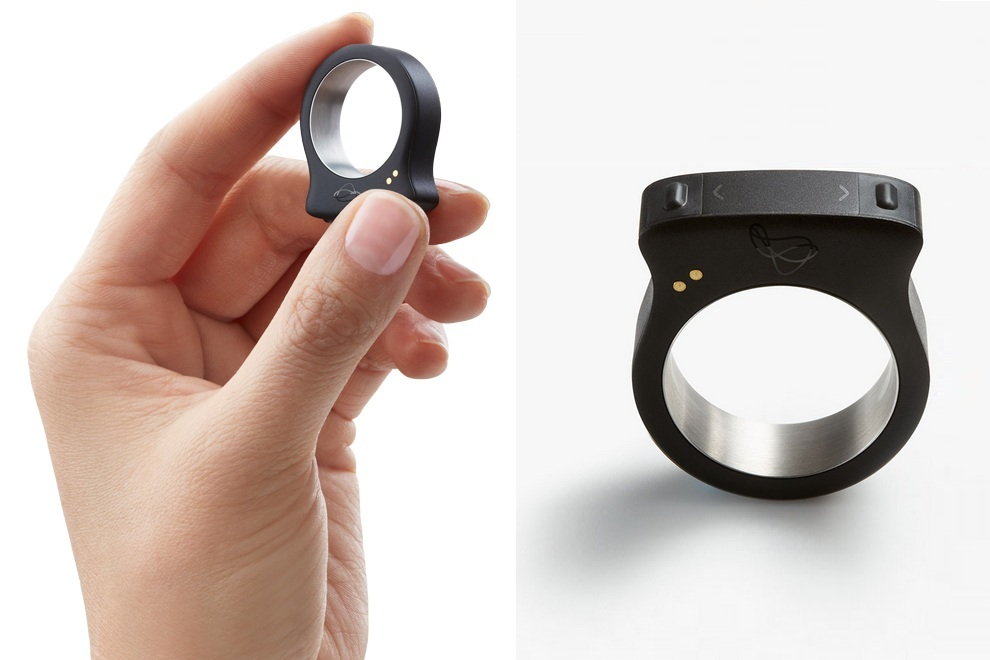 Nod Bluetooth Ring Controls All Your Smart Devices