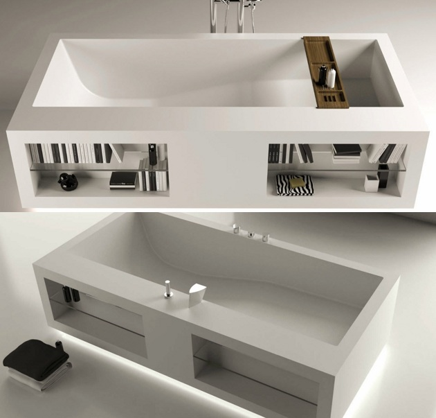 Rectangular Bathtub By Moma Design