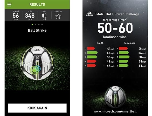 Sensor Packed miCoach Smart Ball Improves Your Game