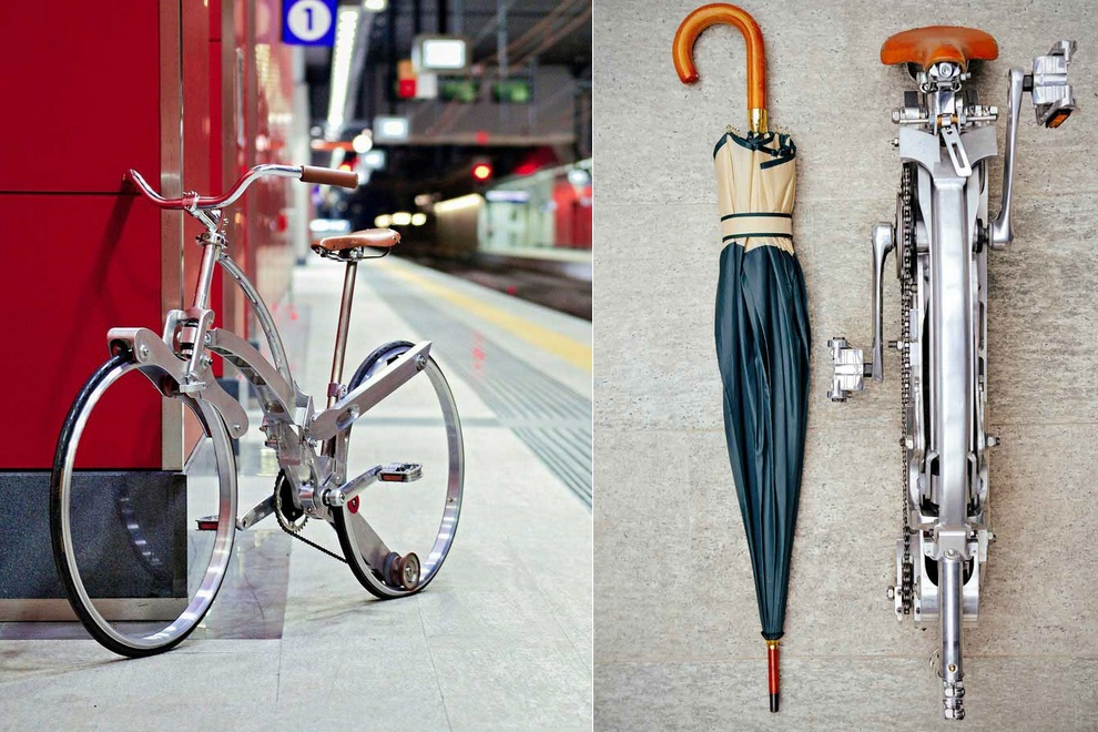 This Might Be The Worlds Most Collapsible Bike