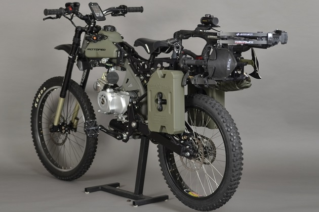 Motoped Survival Bike (5)