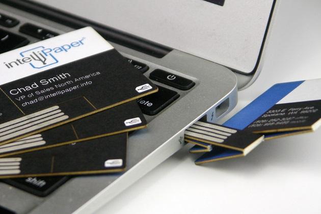 Swivel Business Card USB Bonjourlife