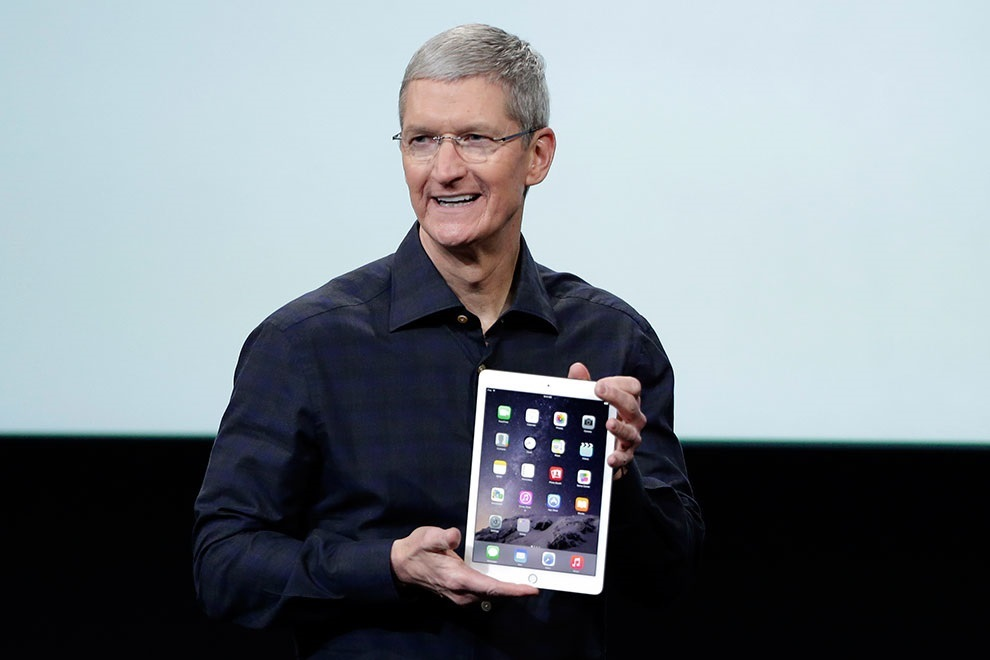 Here Comes World's Thinnest Tablet iPad Air 2 (1)