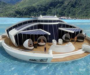 The Luxury Solar Floating Island Resort (8)