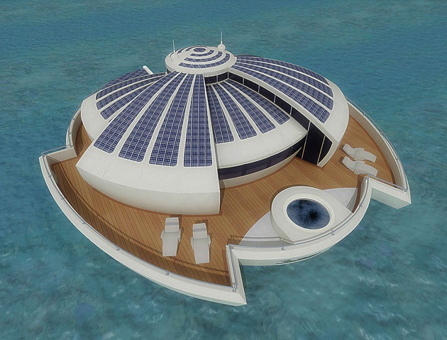 The Luxury Solar Floating Island Resort (5)