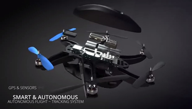 Hexo Flying Drone Will Autonomously Follow and Film You (3)