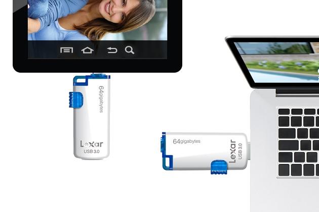 Lexar JumpDrive M20 Mobile USB 3.0 Flash Drive (3)