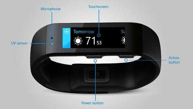 Microsoft Band Powered By Microsoft Health (2)