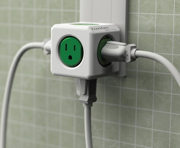 PowerCube Extended USB and Electric Outlet Adapter (7)