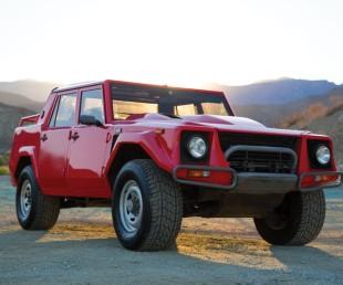 1989 Lamborghini LM002 on Auction