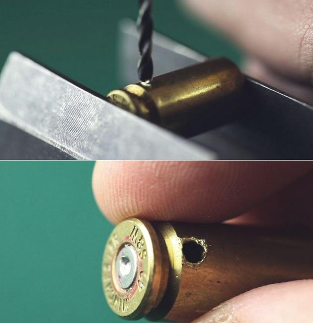 DIY Bullet Casing Earphones
