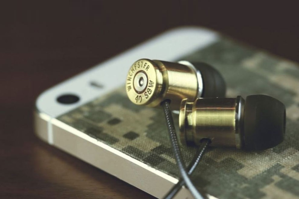 DIY Bullet Casing Earphones