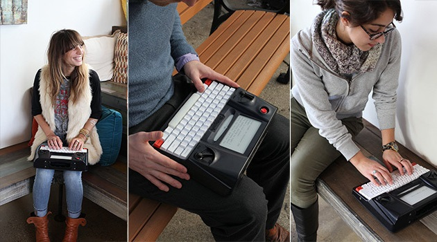 Hemingwrite Digital Typewriter Lets You Write Your Masterpiece (3)