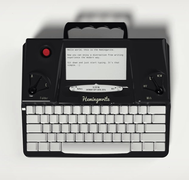 Hemingwrite Digital Typewriter Lets You Write Your Masterpiece (2)