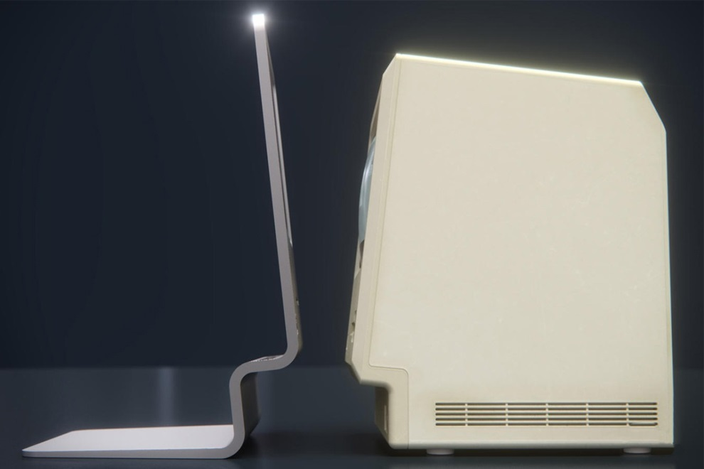 Curved labs Pays Tribute to Design History of Apple Macintosh (1)