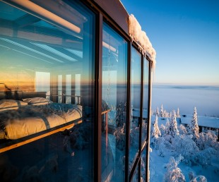 Incredible Eagles View Suite at Iso Syote Hotel in Finland (1)