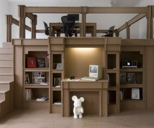 Incredible Amsterdam Office Created Entirely From Cardboard