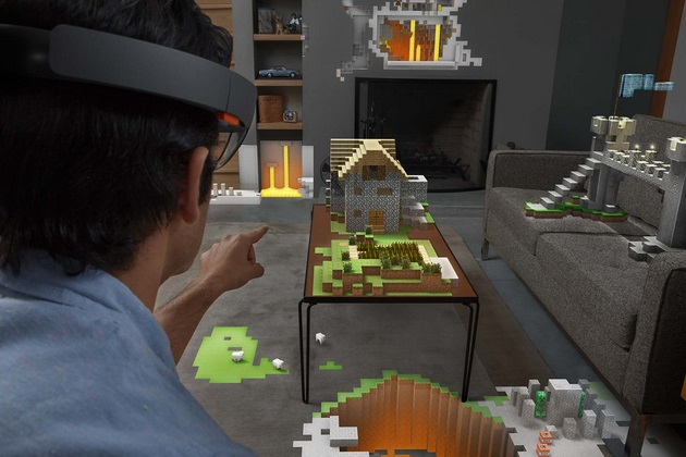Microsoft Hololens Brings Hollywood into Reality