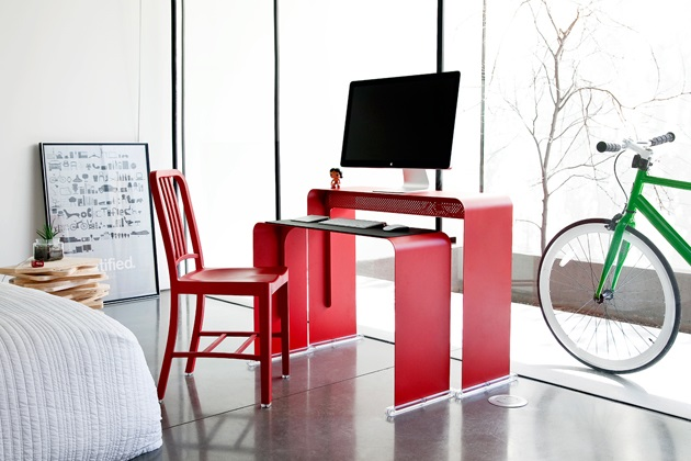 Oneless Space Saving Desk (1)