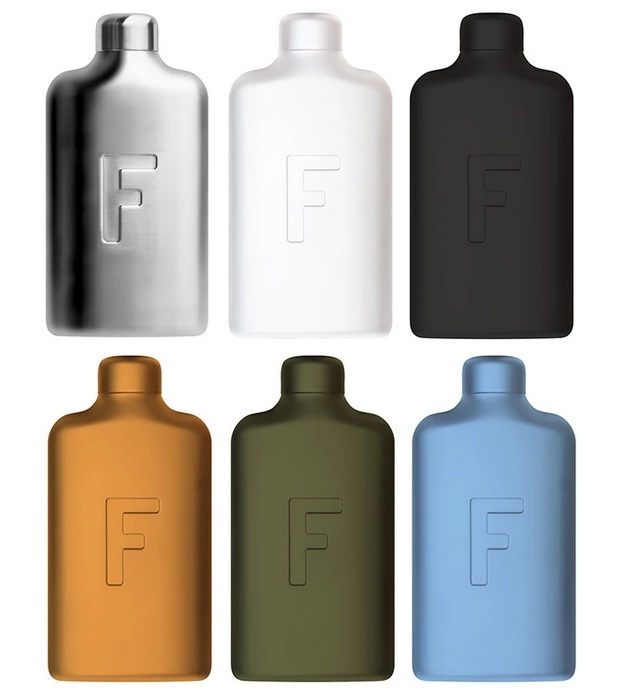 Fred Water Flask with More Water Less Sugar