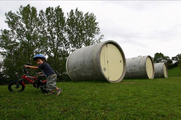 Sleepaway in a Sewer Pipe